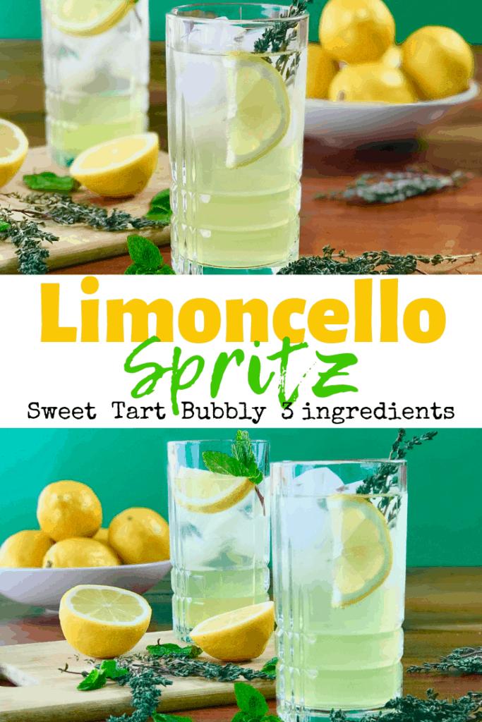 Limoncello Spritz Italian Prosecco Cocktail Paleo Gluten Free Guy