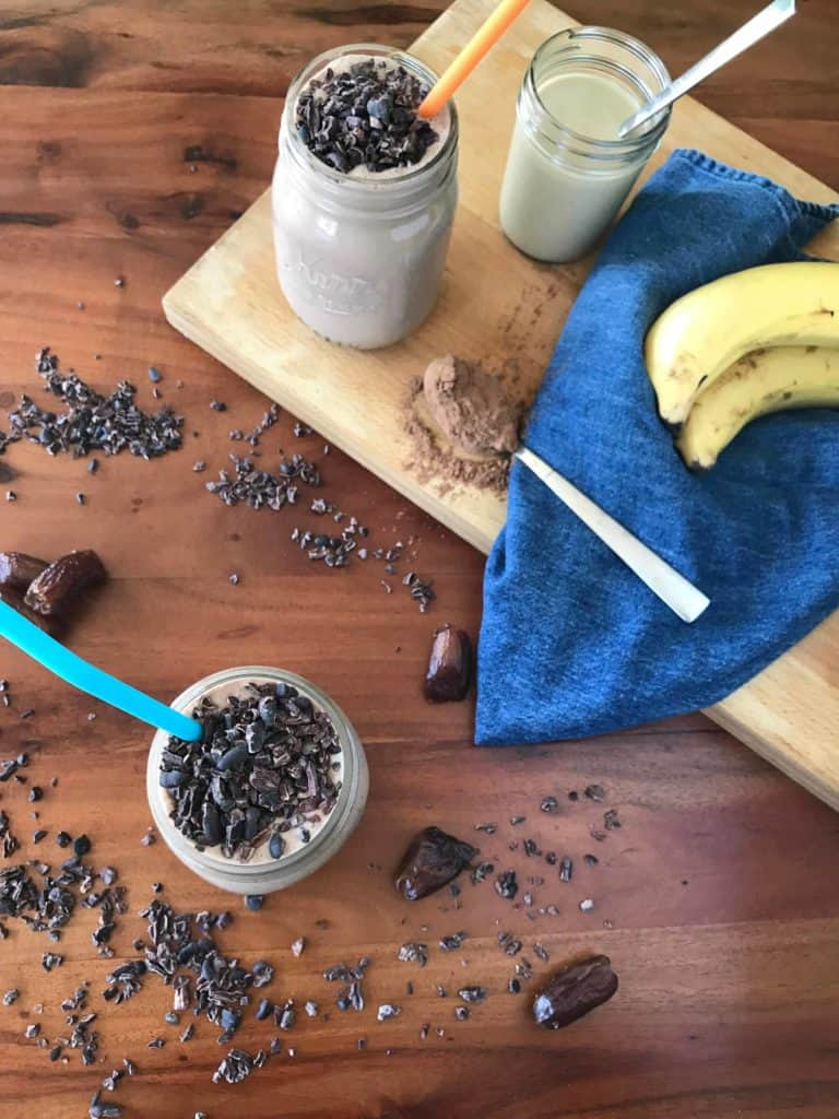 Chocolate Tahini Smoothie - Paleo Gluten-Free Guy
